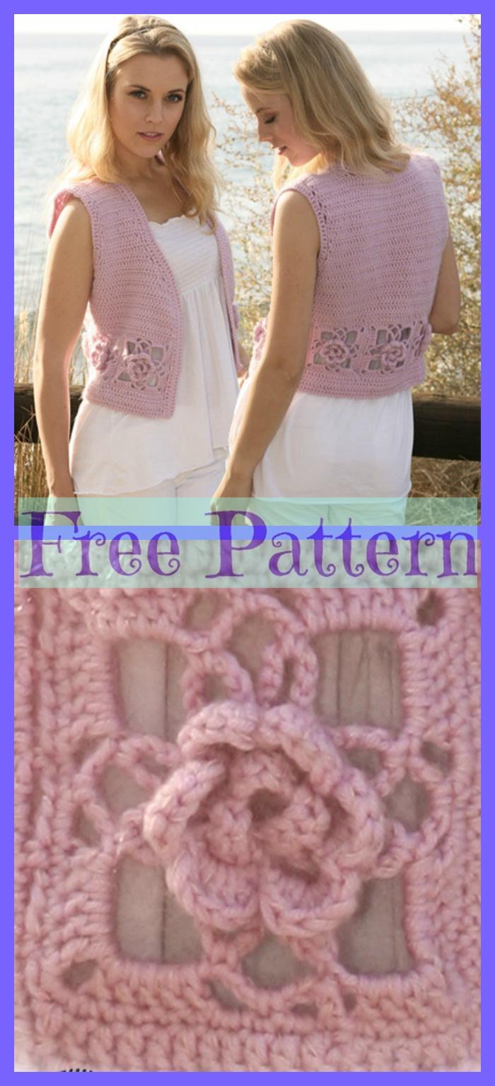 Waistcoat Free Crochet Pattern