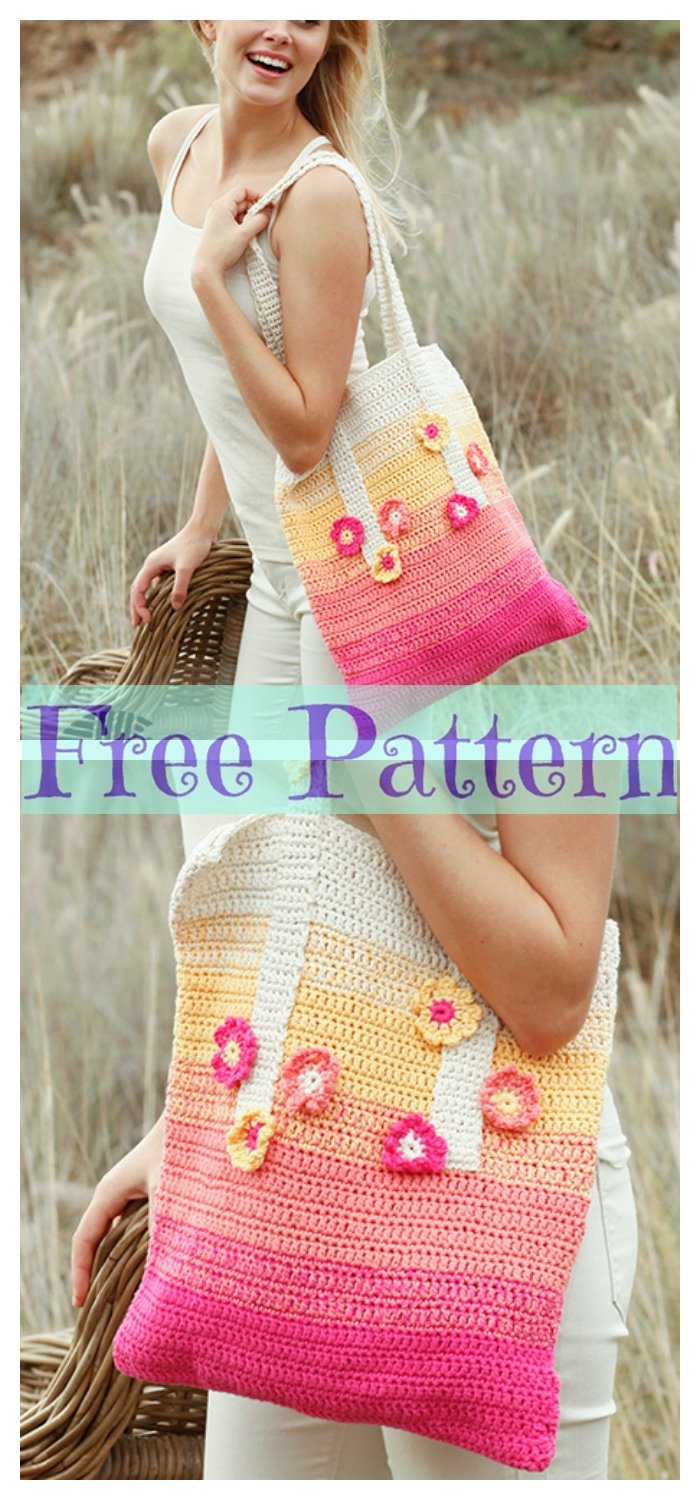 diy4ever- 8 Crochet Summer Bags - Free Patterns P1