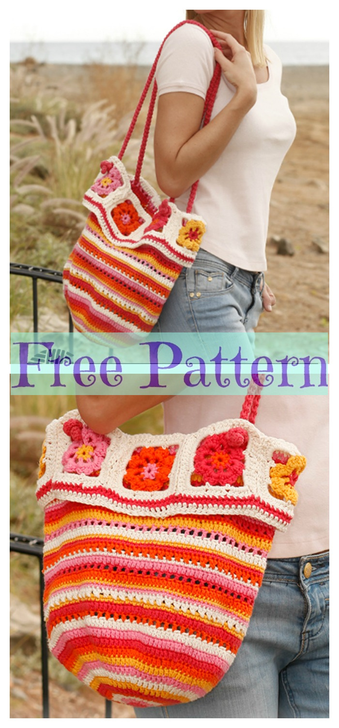 diy4ever- 8 Crochet Summer Bags - Free Patterns P4
