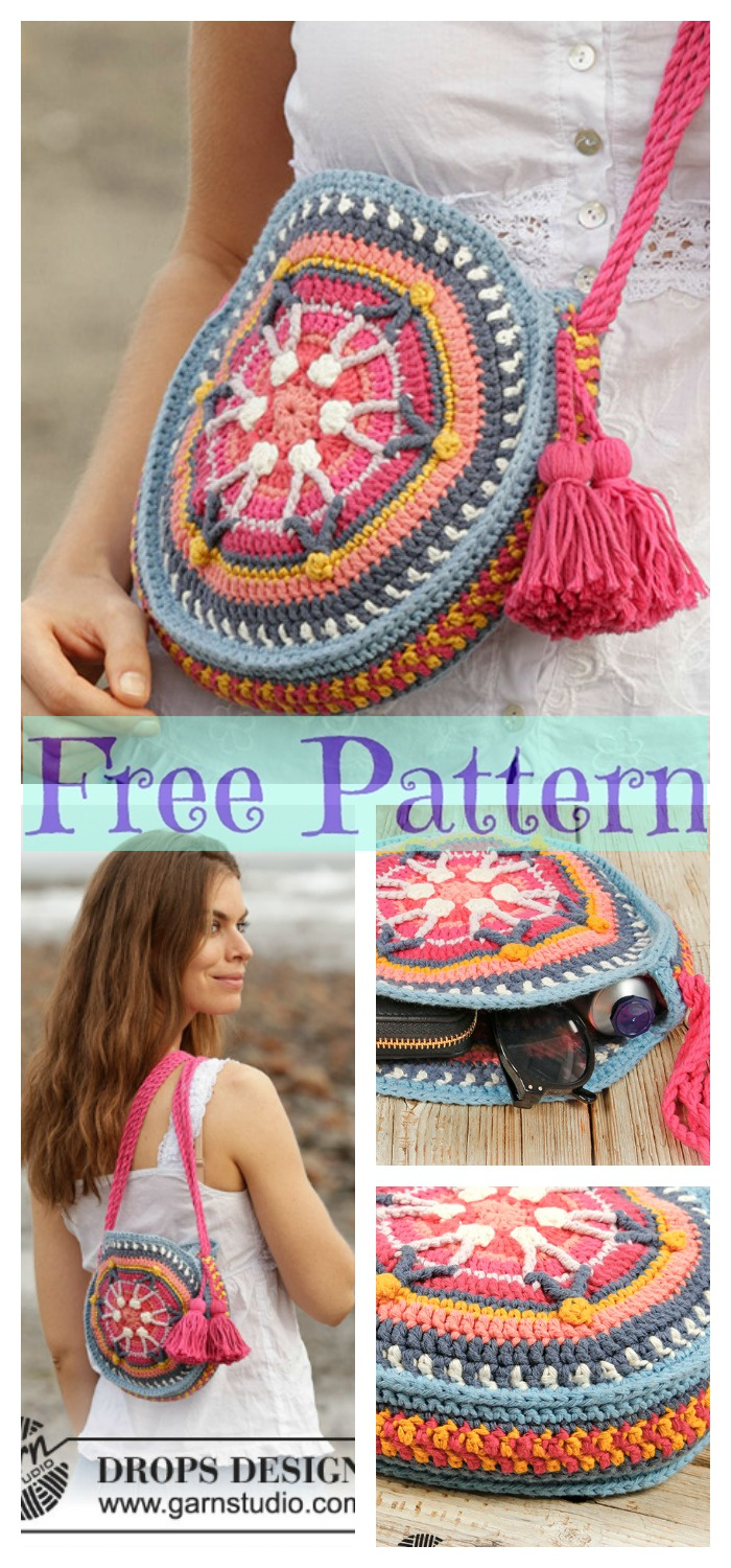 diy4ever- 8 Crochet Summer Bags - Free Patterns P5