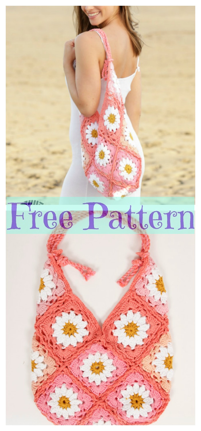 diy4ever- 8 Crochet Summer Bags - Free Patterns P6