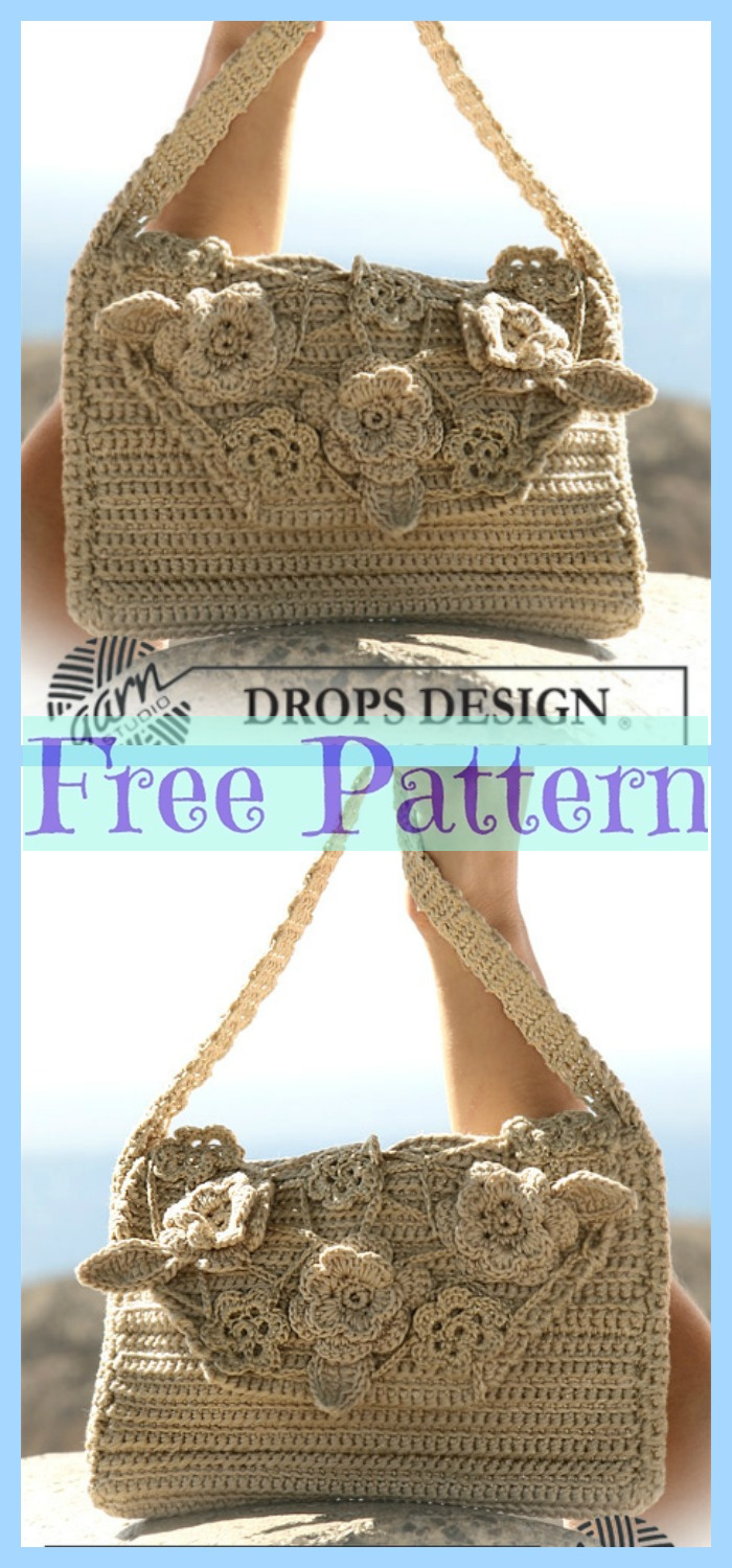 diy4ever- 8 Crochet Summer Bags - Free Patterns P7
