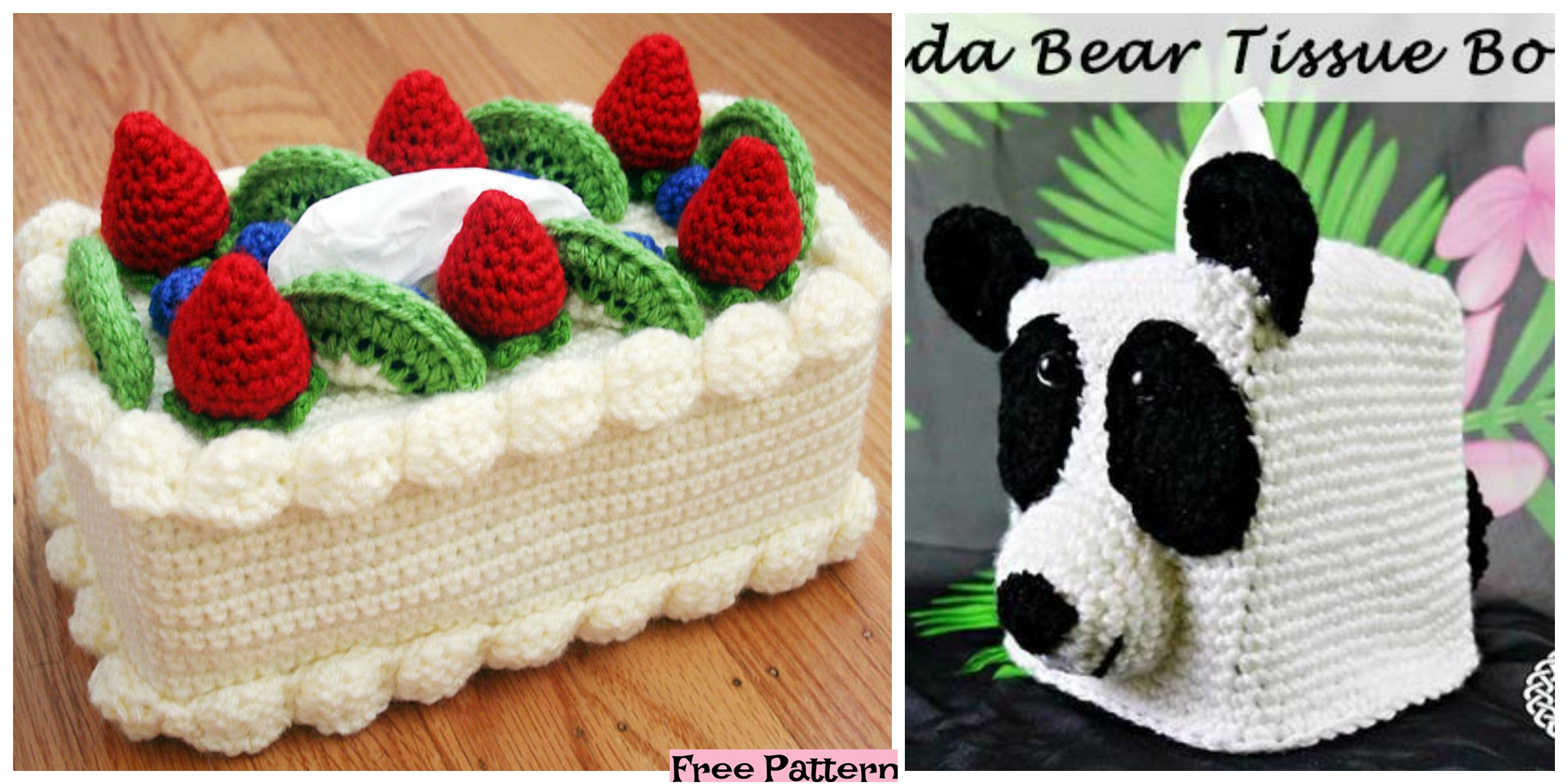 8 Tissue Box Cover Free Crochet Patterns