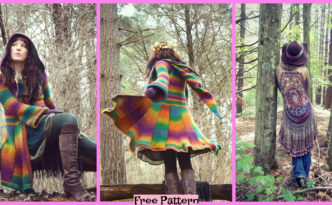 diy4ever-Crochet Elf Coat Free Pattern