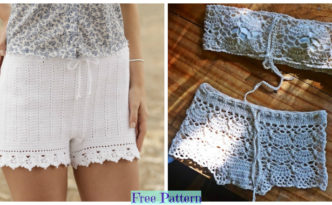 diy4ever-Crochet Summer Shorts - Free Patterns