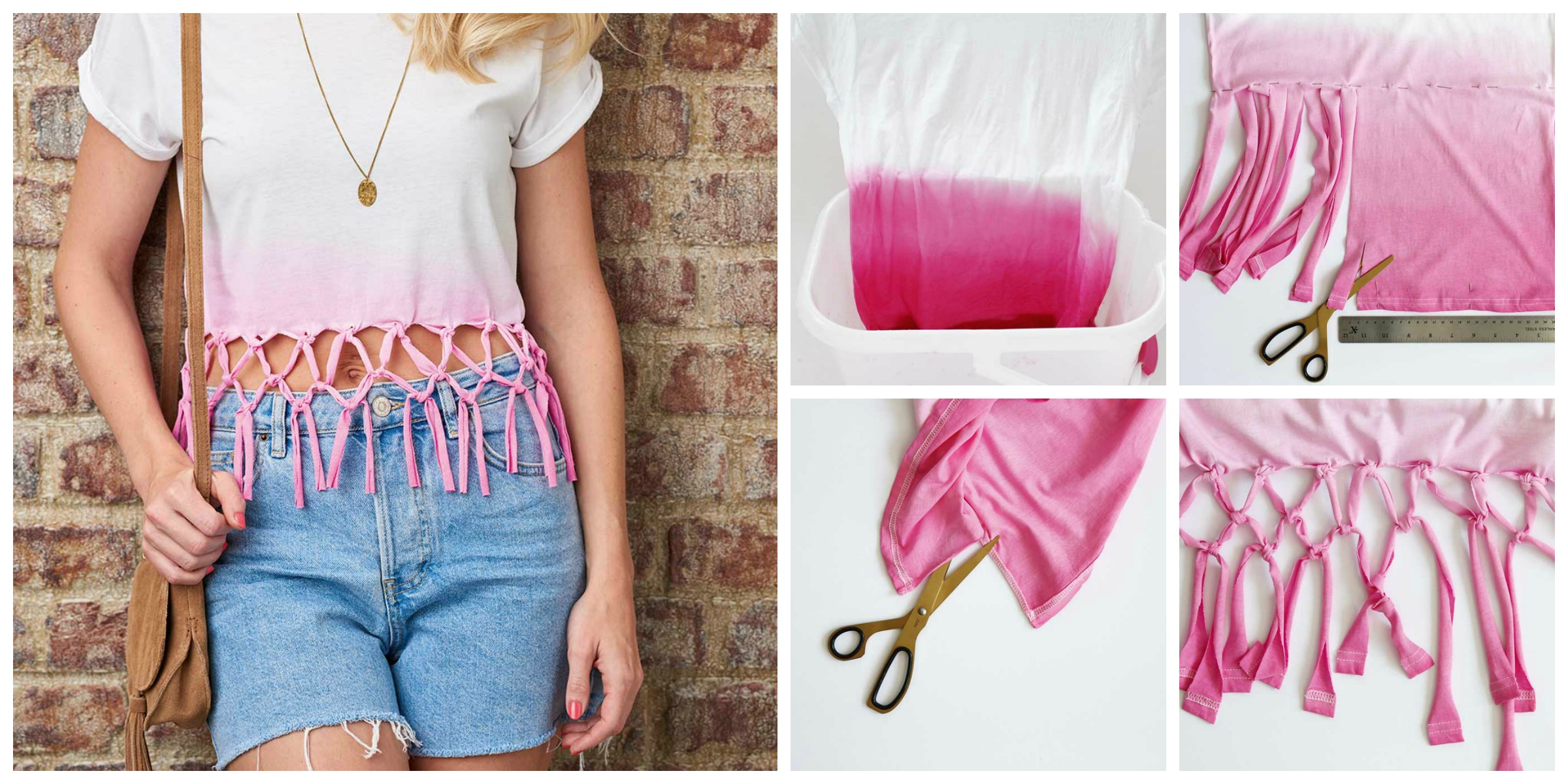 How to DIY Macramé Top – Free Tutorial