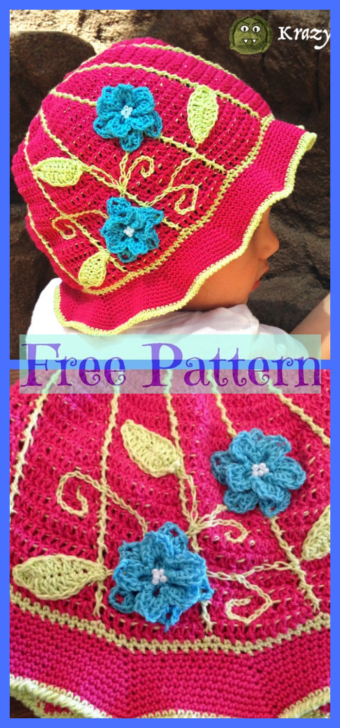 diy4ever-6 Summer Sun Hats - Free Crochet Patterns P5