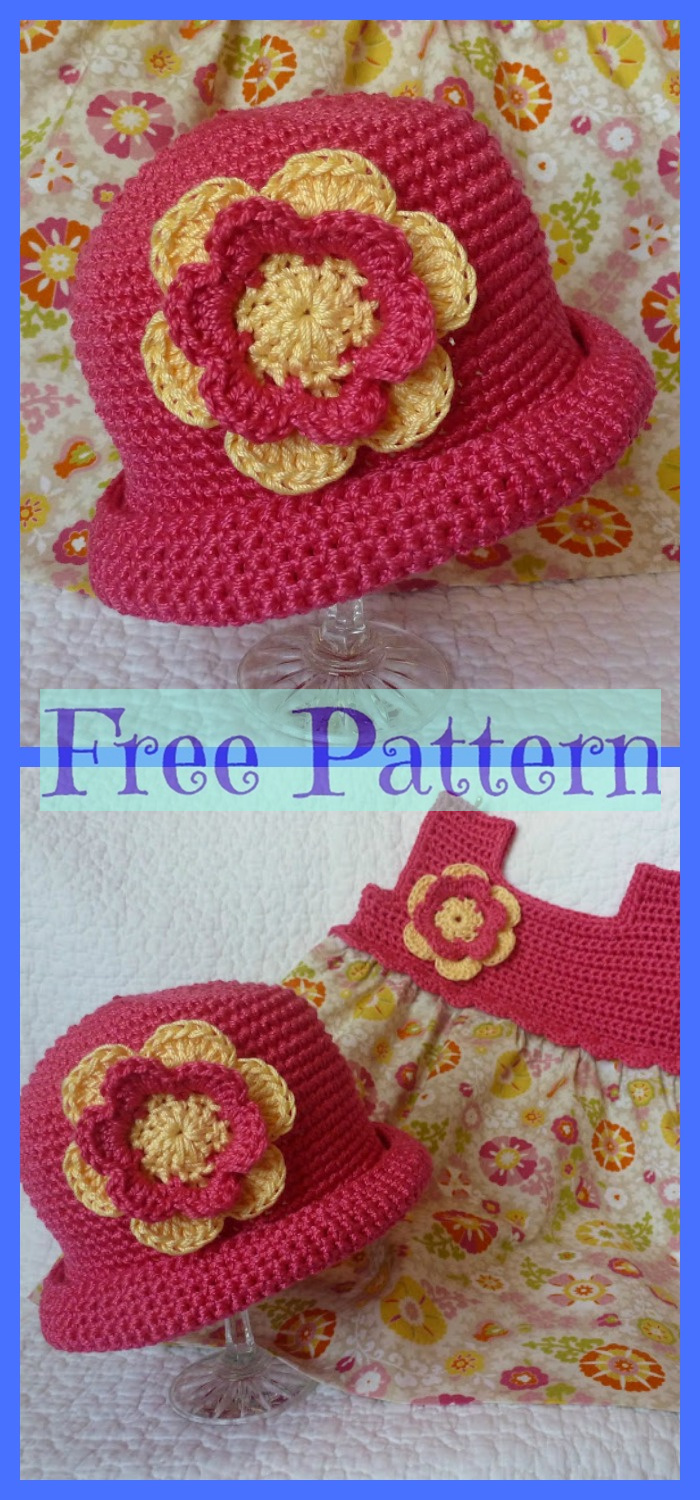 diy4ever-6 Summer Sun Hats - Free Crochet Patterns P6