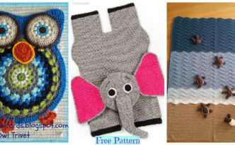 diy4ever-Crochet Animal Rugs - Free Patterns F