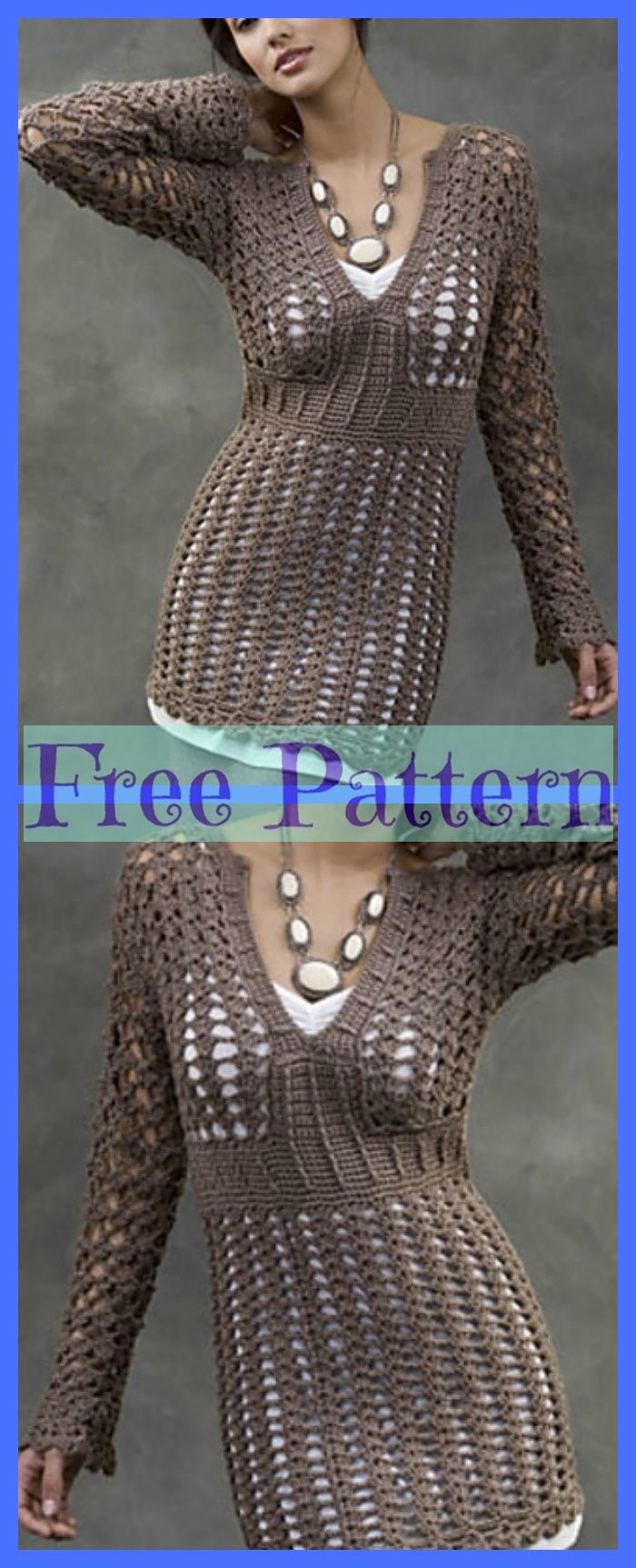 diy4ever-Pretty Crochet Sweaters - Free Patterns P1