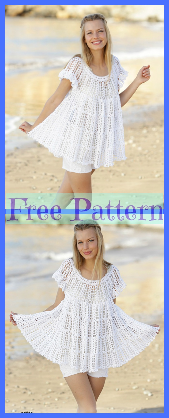 diy4ever-Pretty Crochet Sweaters - Free Patterns P2