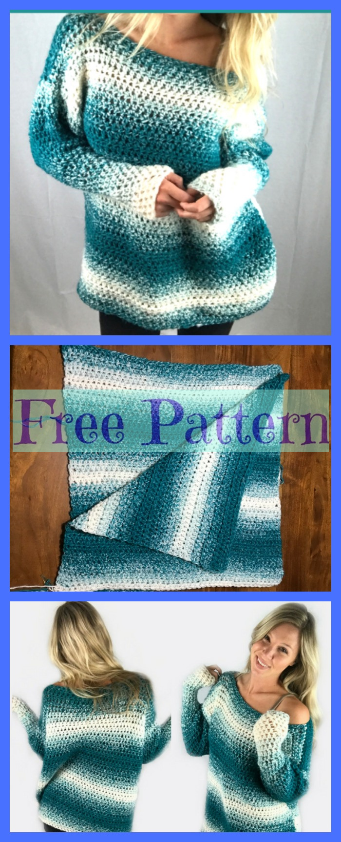 diy4ever-Pretty Crochet Sweaters - Free Patterns P3