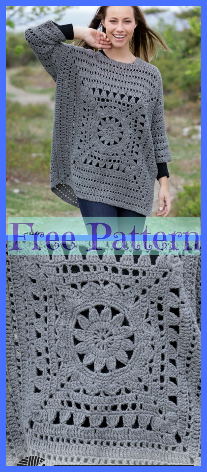 diy4ever-Pretty Crochet Sweaters - Free Patterns P5