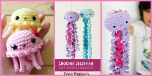diy4ever-Crochet Jellyfish Amigurumi - Free Patterns
