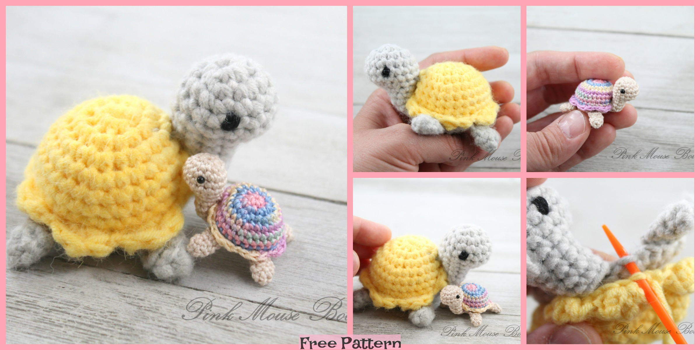 Crochet Little Miss Turtle – Free Pattern