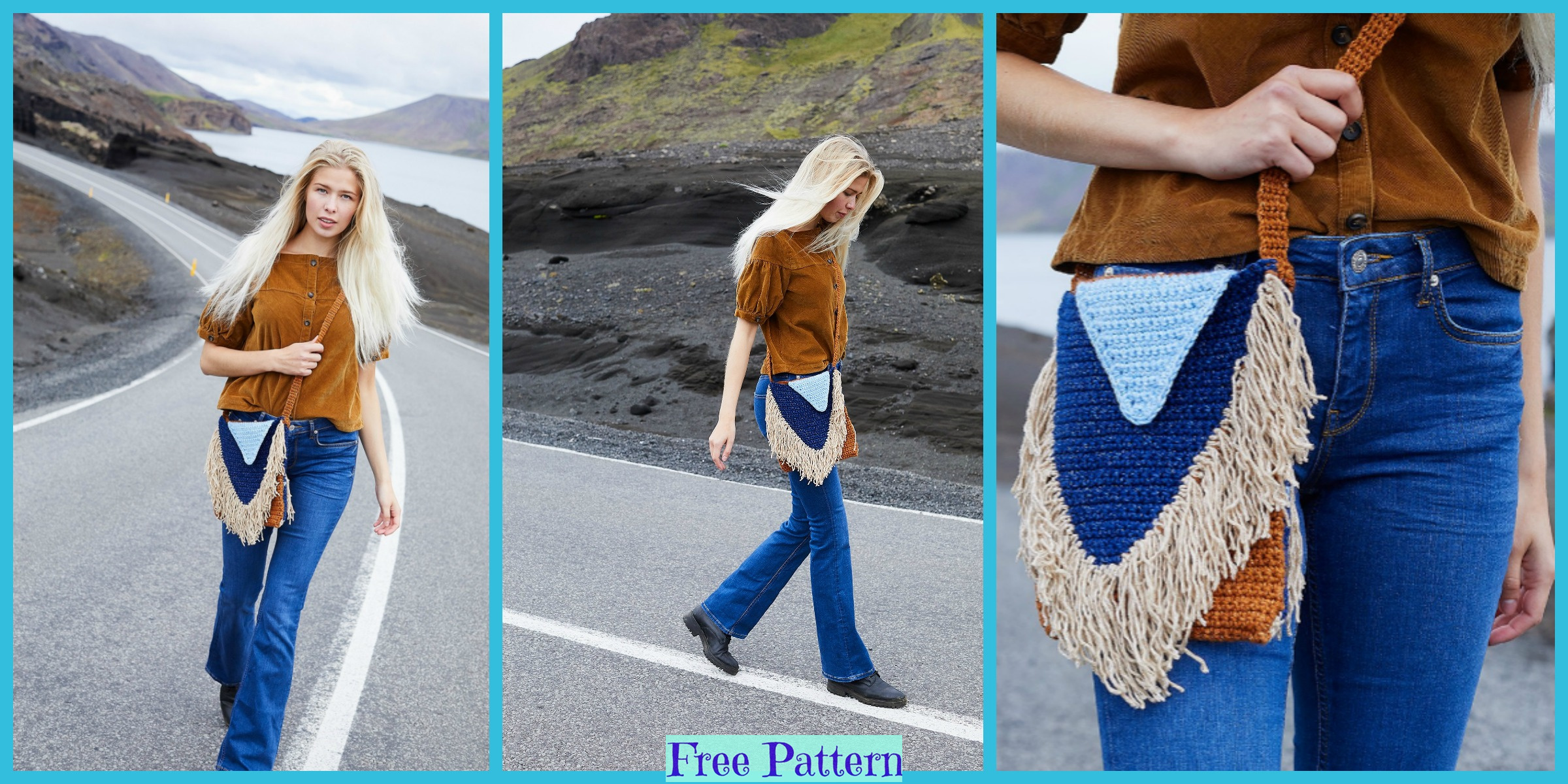Useful Crochet Stylish Bag – Free Patterns