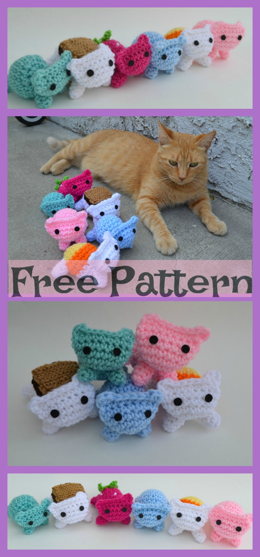 Crochet Amigurumi Kitty - Free Patterns