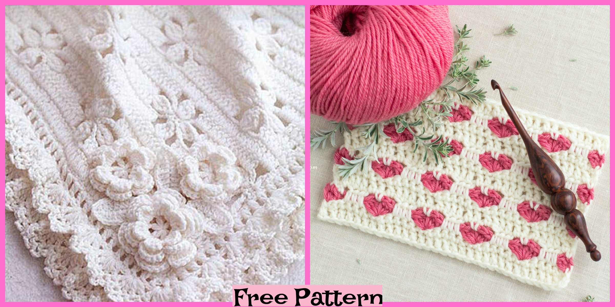 Crochet Cozy Baby Blanket – Free Patterns