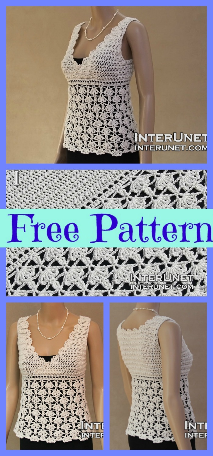 diy4ever-Crochet Easy Blouses - Free Patterns