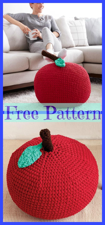 diy4ever- Crochet Floor Puffs - Free Patterns