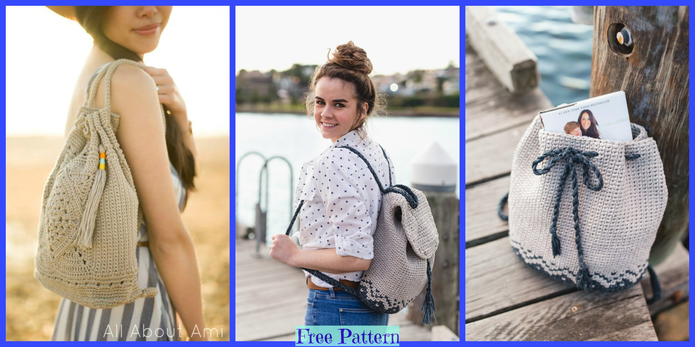 Crochet Florence Backpack – Free Patterns