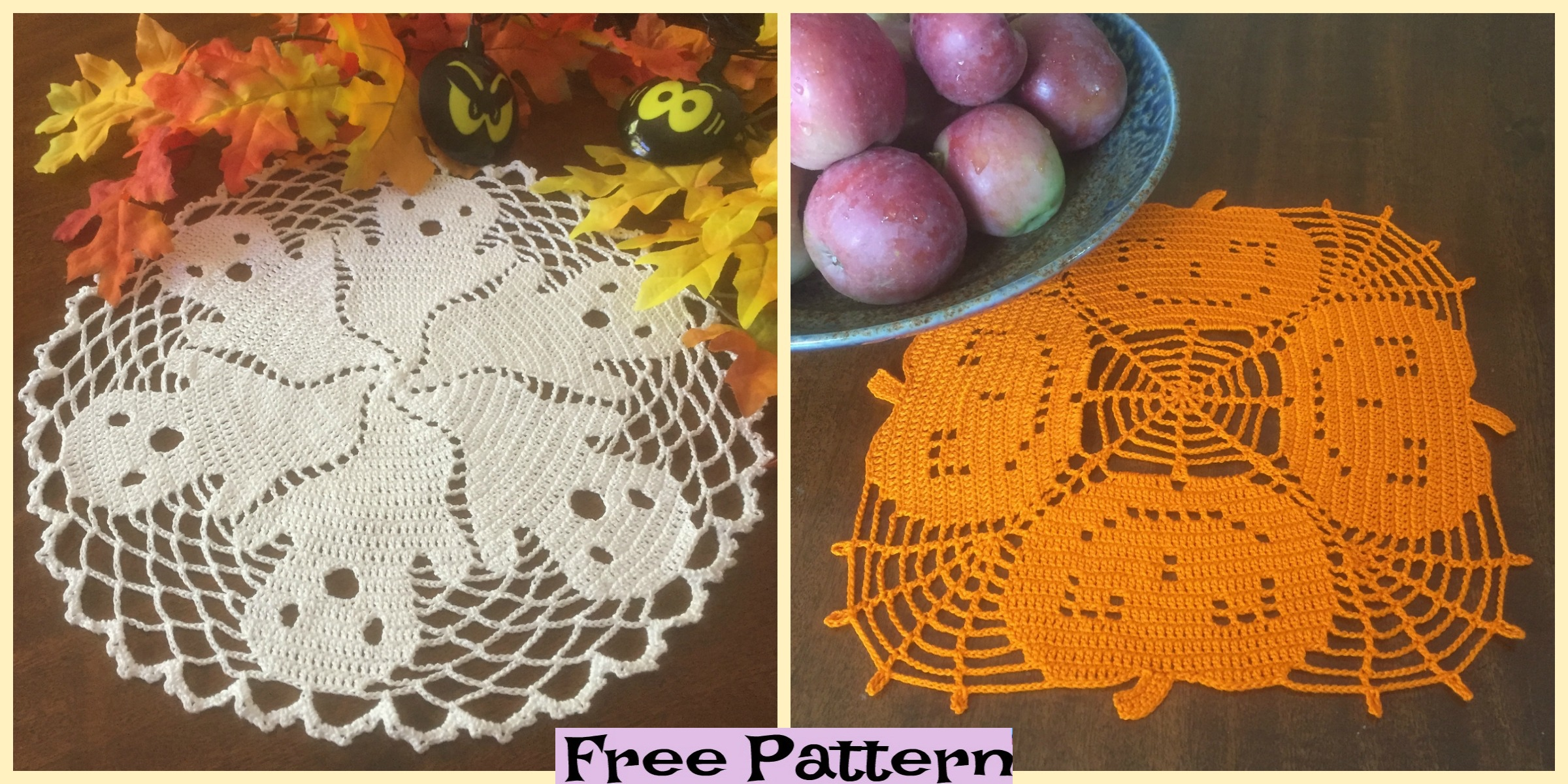 33+ Free Spooky Halloween Crochet Patterns - Sigoni Macaroni | 1200x2400