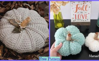 diy4ever- Crochet Pumpkin Decor - Free Patterns