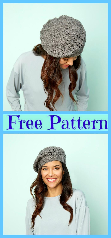 8 Crochet Cute Sun Hat Free Patterns
