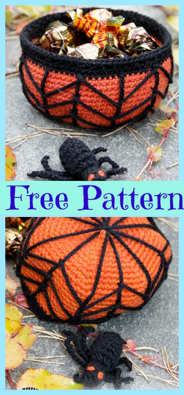 diy4ever- Crochet Candy Basket - Free Patterns