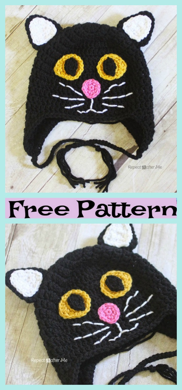 diy4ever-Crochet-Halloween-Black-Cat-Hat-Free-Pattern-P2