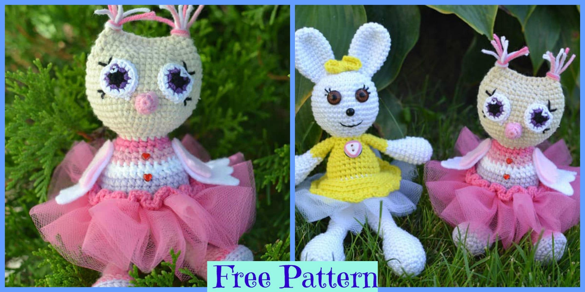 Crochet Owl Princess Amigurumi – Free Pattern