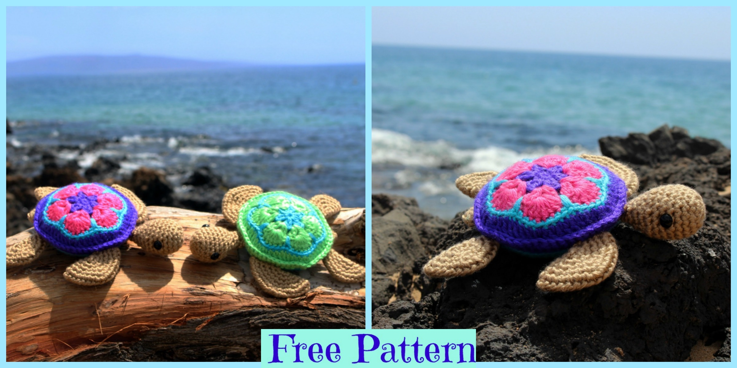 Crochet Sea Turtle Amigurumi – Free Pattern