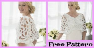 diy4ever-Crochet Wedding Capelet - Free PATTERN