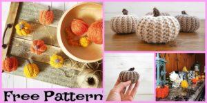 diy4ever-Crochet Mini Pumpkin - Free pattern