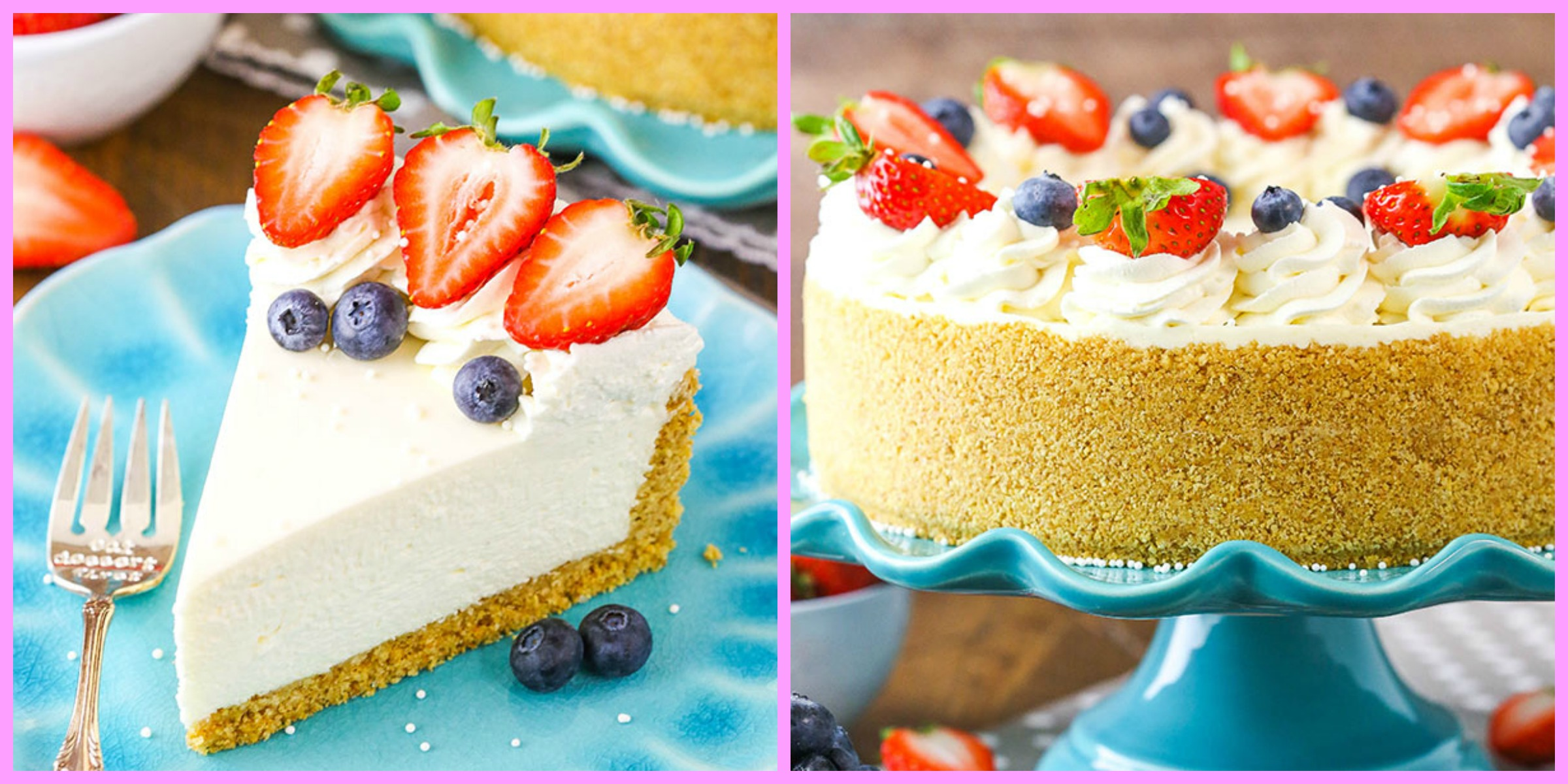 Delicious No Bake Cheesecake Recipe