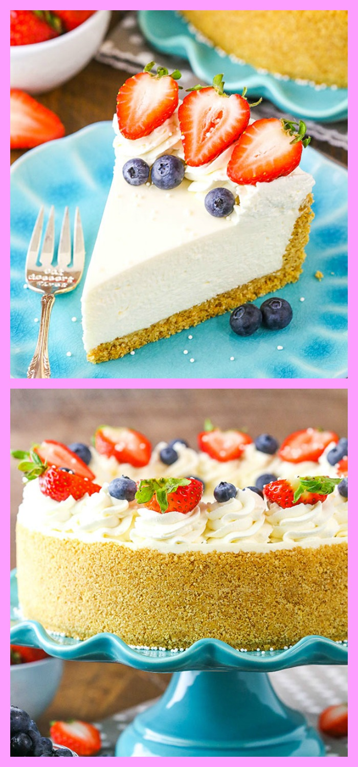 diy4ever-No Bake Cheesecake Recipe