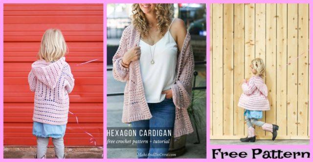 Comfortable Crochet Cardigan – Free Pattern