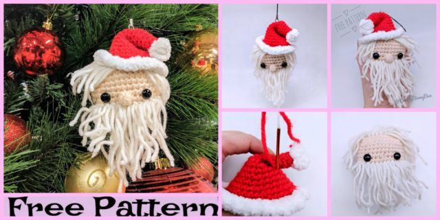 Crochet Little Cube Santa Amigurumi – Free Pattern