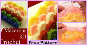 diy4ever-3D Marshmallow Stitch Free Crochet Pattern