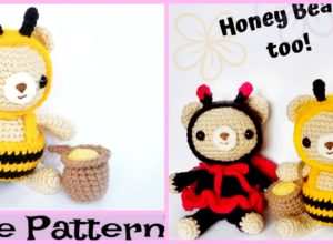 Cute Crochet Bear Amigurumi – Free Patterns