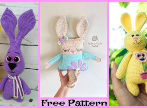 Adorable Crochet Bunny Amigurumi – Free Patterns