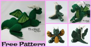 diy4ever-Crochet Dragon Amigurumi - Free Patterns