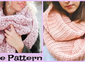 Crochet Easy Winter Scarf – Free Pattern