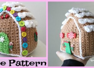 Crochet Gingerbread House – Free Pattern