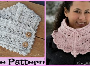 Crochet Secret Garden Neck Warmers – Free Pattern
