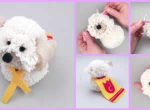 Adorable DIY Shaggy Dog Tutorial