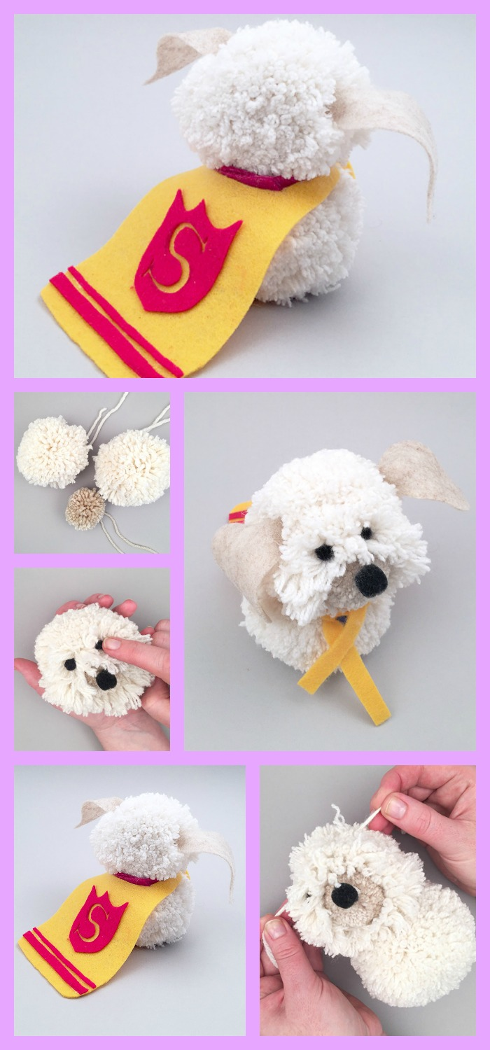 diy4ever-DIY Shaggy Dog Tutorial