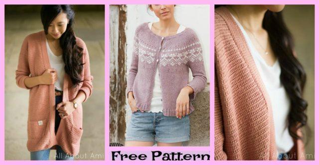 Crochet Rosewood Cardigan – Free Pattern