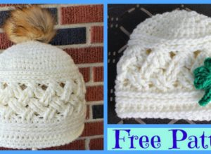 Crochet  Cozy Winter Hats – Free Patterns