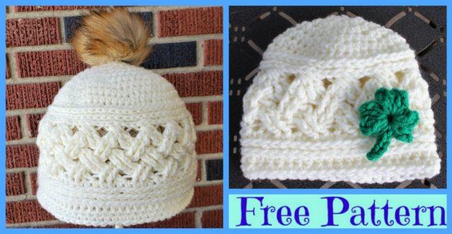 Crochet  Cozy Winter Hats – Free Patterns
